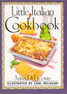 Anna-Del-Conte-A-Little-Italian-Cook-Book-International-little-cookbooks-Book