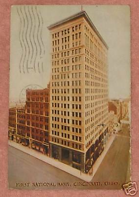 First National Bank  Cincinnati  Ohio