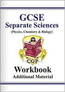 GCSE Separate Sciences: Physics, Chemistry and Biology: Workbook (without...