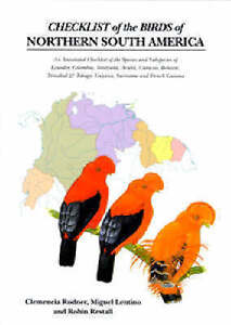 Checklist-of-the-Birds-of-Northern-South-America-An-Annotated-Checklist