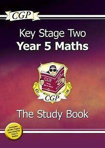 CGP Books-Ks2 Maths Targeted Study Book - Year 5  BOOK NEW
