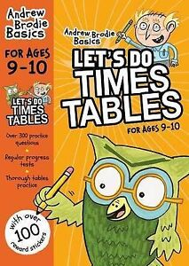 Brodie Andrew-Let`S Do Times Tables 9-10  BOOK NEW