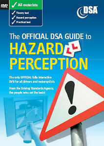 The Official DSA Guide to Hazard Perception by Driving Standards Agency (DVD, 2…