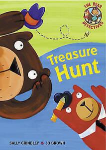 Grindley, Sally, The Bear Detectives: Treasure Hunt, Very Good Book
