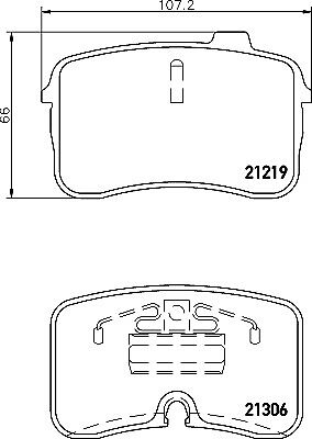 Mintex Front Brake Pad Set MDB1517    BRAND NEW   GENUINE   5 YEAR WARRANTY