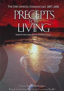 Precepts for Living 2007-2008, Vincent Dr. Bacote