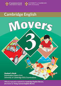 Cambridge Young Learners English Tests Movers 3 Students Book: Exam...  BOOK NEW