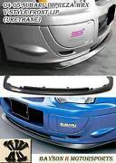WRX Bumper