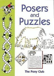 POSERS & PUZZLES  BOOK NEW