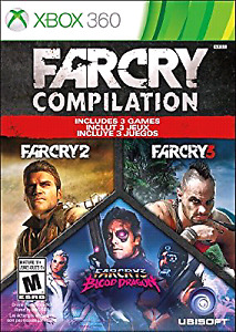 FAR CRY COMPILATION 3N1 XBOX 360