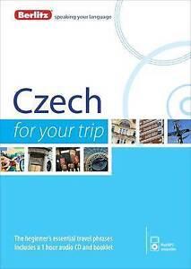 Berlitz Language: Czech For Your Trip (Berlitz For Your Trip), Berlitz, New Book