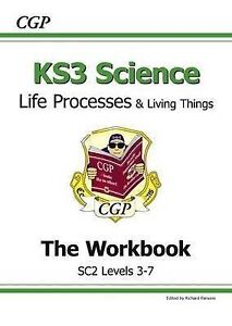 KS3 Biology Workbook (with Online Edition) - Higher by CGP Books (Paperback, 19…