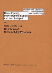 Handbook Of Sustainability Research  9783631526064