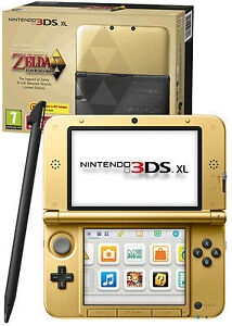 Nintendo-3DS-XL-Limited-Edition-Legend-of-Zelda-Link-Between-Worlds-UK-SELLER