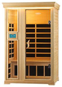 Infrared Sauna 2 Person Healthstart Gemini ULTRA Hemlock Umina Beach Gosford Area Preview