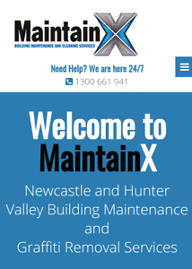 MaintainX Property maintenance pressure cleaning graffiti removal