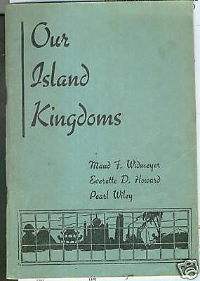 Our Island Kingdoms Missions Study Book 1939 40 Church Nazarene Japan W Indies