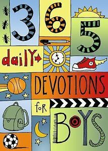 Details about 365 devotions for boys by b amp h kids editorial staff 2015