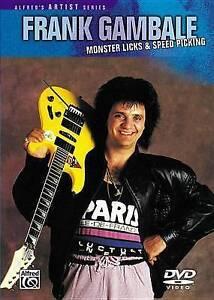 NEW Monster Licks-Speed Picking, Frank Gambale (DVD)