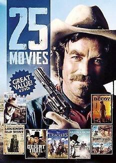 NEW 25-Movies Western Movies (DVD)