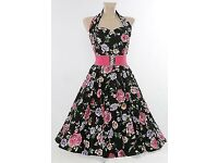 Vivien of Holloway Halter Neck Circle Skirt Dresses