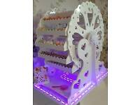 Hire our 3ft Colouring changing Base, Candy Ferris Wheel, 16 choces of sweets, £150 to hire