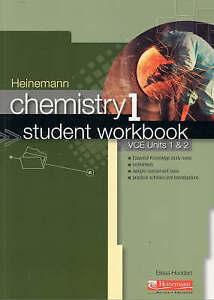 Heinemann Chemistry: Bk. 1: Student Workbook by Harcourt Education (Paperback, 2