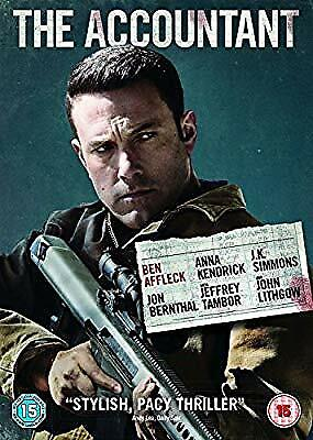 The Accountant [DVD + Digital Download] [2017], , Used; Very Good DVD