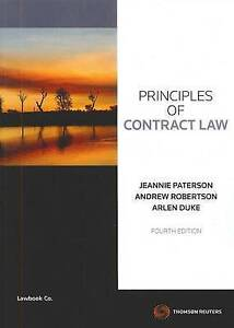 Principles of Contract Law (4th Ed.)  by Paterson, Robertson & Duke