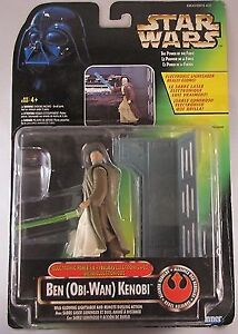 VINTAGE STAR WARS THE POWER OF THE FORCE BEN KENOBI FIGURE London Ontario image 1