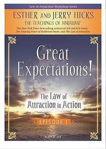 NEW The Law of Attraction In Action 2-DVD set: The Teachings of Abraham