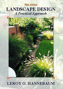 Image Is Loading NEW Landscape Design A Practical Approach 5th Edition