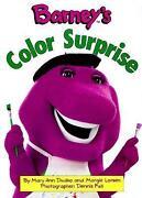 Barney Coloring Books