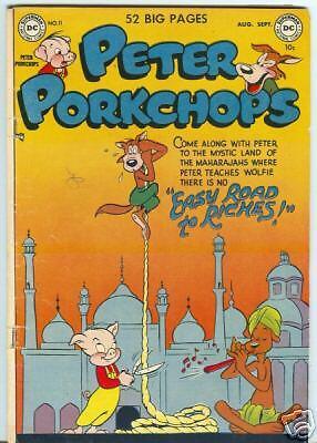 Peter Porkchops #11 August 1951