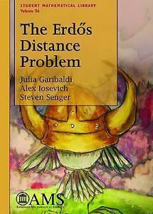NEW The Erdos Distance Problem (Student Mathematical Library, Vol. 56)