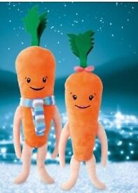 Kevin and Katie the carrot £19.99
