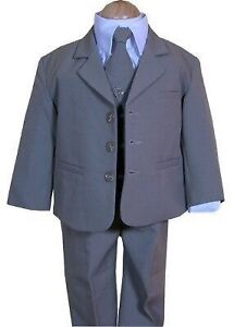 Like New Grey/Gray Toddler Suit 3T