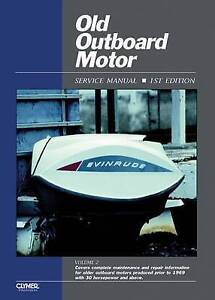 OLD OUTBOARD MOTOR SERVICE V 2 BOOK NEW
