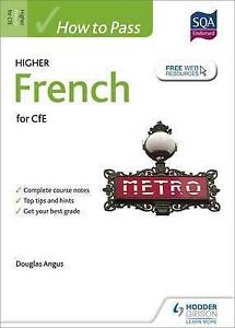 How-to-Pass-Higher-French-for-CfE-by-Douglas-Angus-Paperback-2015