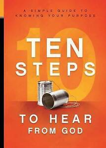10 Steps Hear God Simple Guide Knowing Your Purpose by Charisma House -Paperback