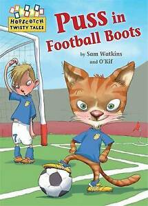 Puss-in-Football-Boots-Hopscotch-Twisty-Tales-ExLibrary