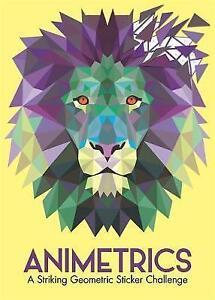 Animetrics: A Striking Geometric Sticker Challenge by Marx, Jonny | Paperback Bo