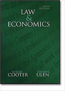 Law and Economics 5th Edition