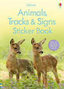 Animal Tracks and Signs Sticker Book (Usborne Spotter's Sticker Guides), Good Co