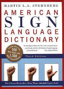 American Sign Language Dictionary (Turtleback School & Library Binding Edition)