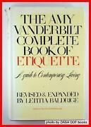 Amy Vanderbilt Etiquette