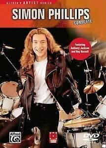 NEW Simon Phillips Complete (DVD)