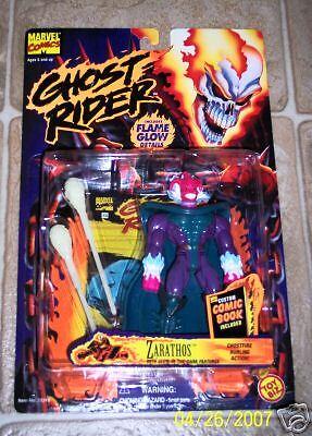 Marvel GHOST RIDER Zarathos action figure Toybiz moc