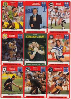 1991 Rugby League NRL Stimorol Collector Trading Cards