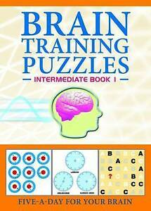 Brain-training Puzzles: Intermediate Book 1 (Brain Training Puzzles)